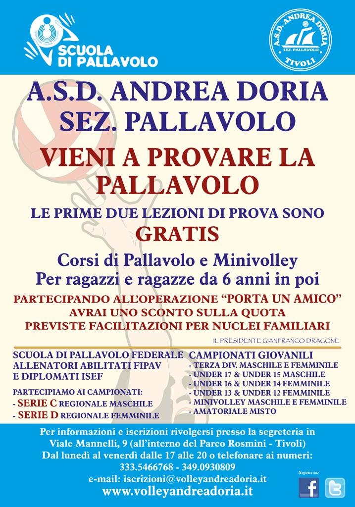 Manifesto Andrea Doria 2012-2013