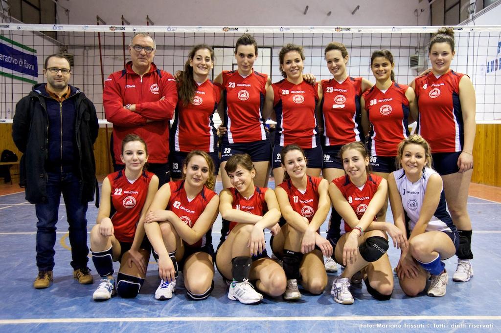 Formazione Terza Divisione Femminile 2012-2013