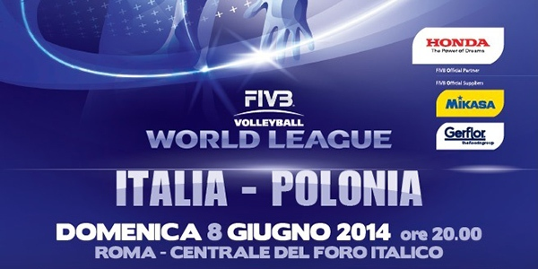 World League 2014 - Italia Polonia
