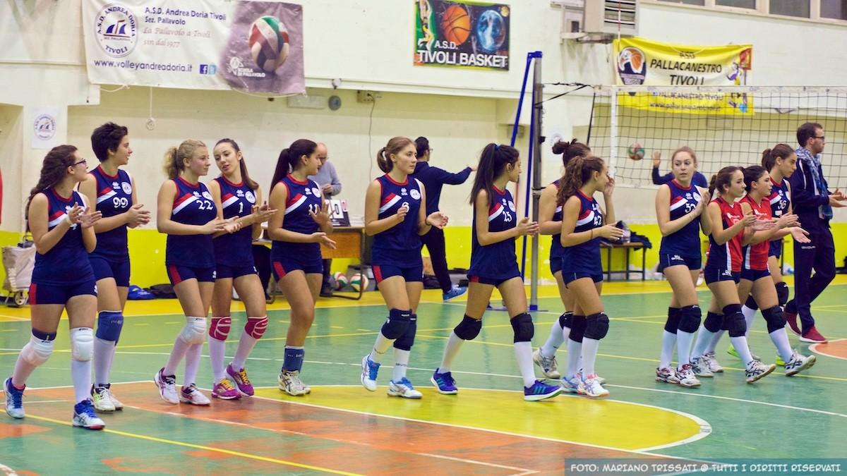 U16F ELITE - Andrea Doria Tivoli - ASD Volley Cave