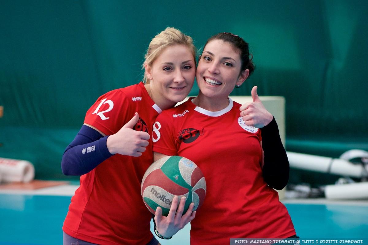 Federica Macrini e Claudia Maschetti - Andrea Doria Tivoli - 2015-2016