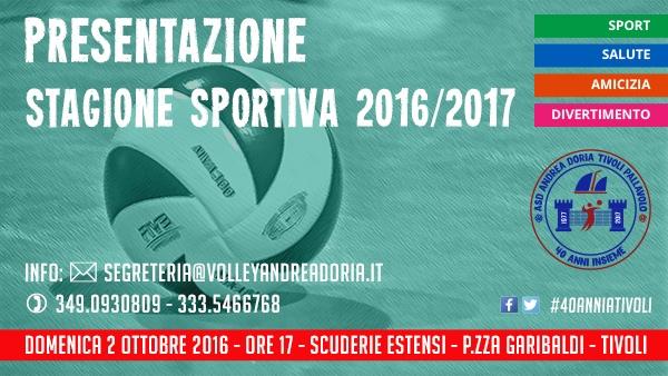 Presentazione Stagione Sportiva 2016/2017 @ Scuderie Estensi | Tivoli | Lazio | Italia