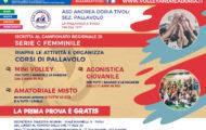 Iscrizioni Pallavolo Andrea Doria Tivoli 2017-2018