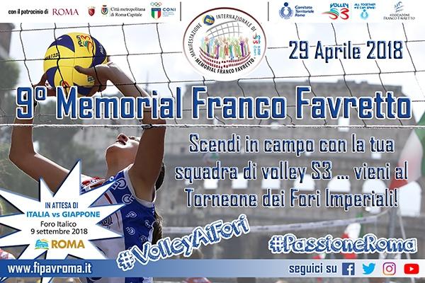 [Minivolley] IX Memorial Franco Favretto @ Roma | Roma | Lazio | Italia