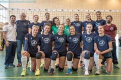 Amichevole - B2F - Andrea Doria Tivoli - Ostia Volley Club