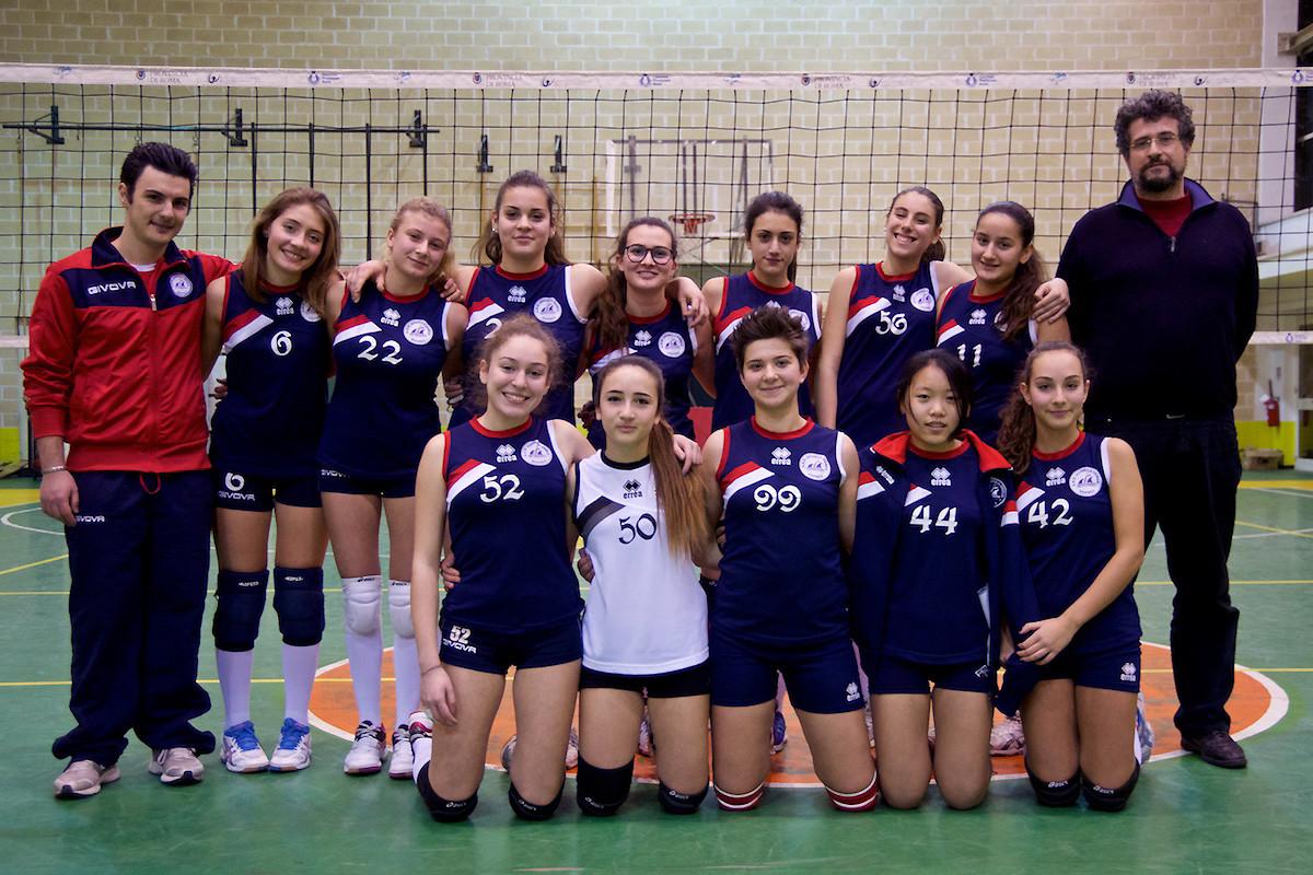 Formazione Under 16 Femminile Elite 2015-2016