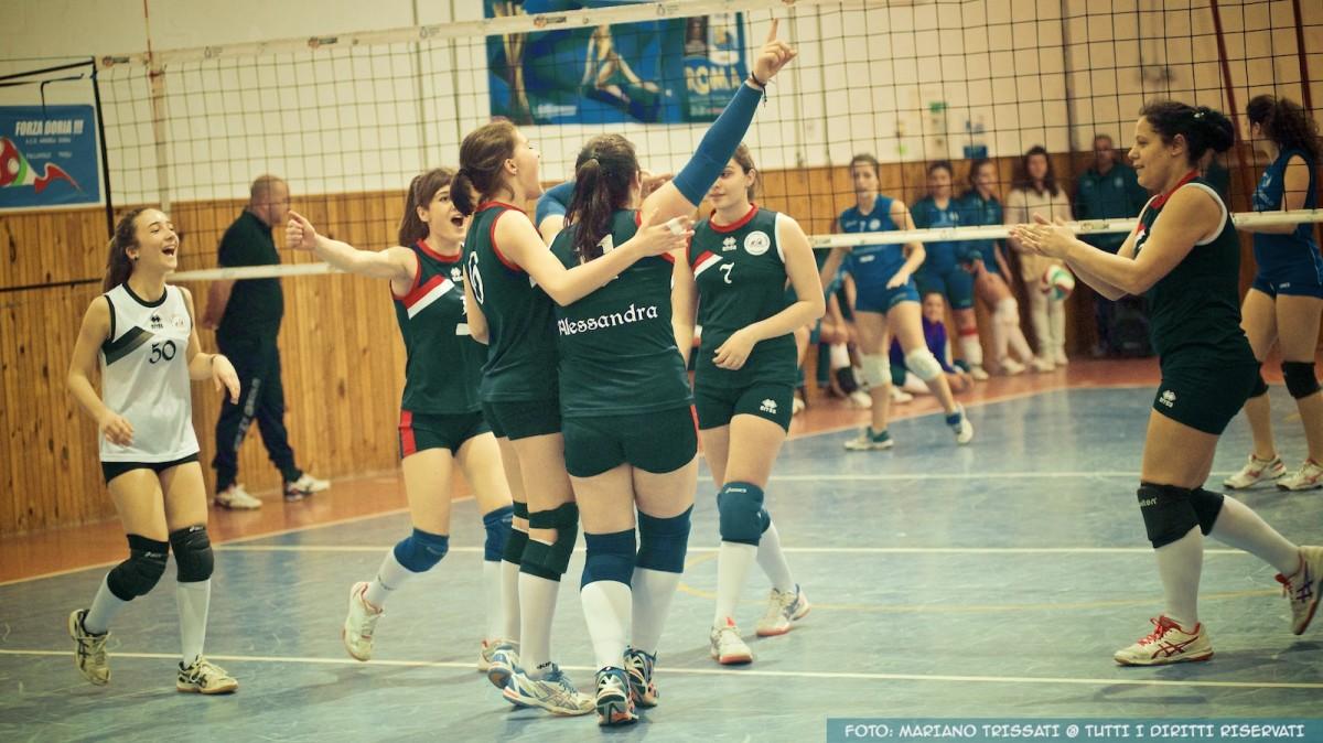 PlayOFF - 2DIVF - Andrea Doria Tivoli - Oriolo Volley