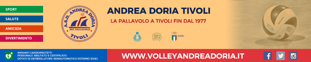 ASD Andrea Doria Tivoli Sez. Pallavolo