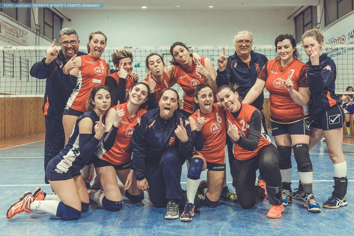 1DIVF - Andrea Doria Tivoli - Volley Cave