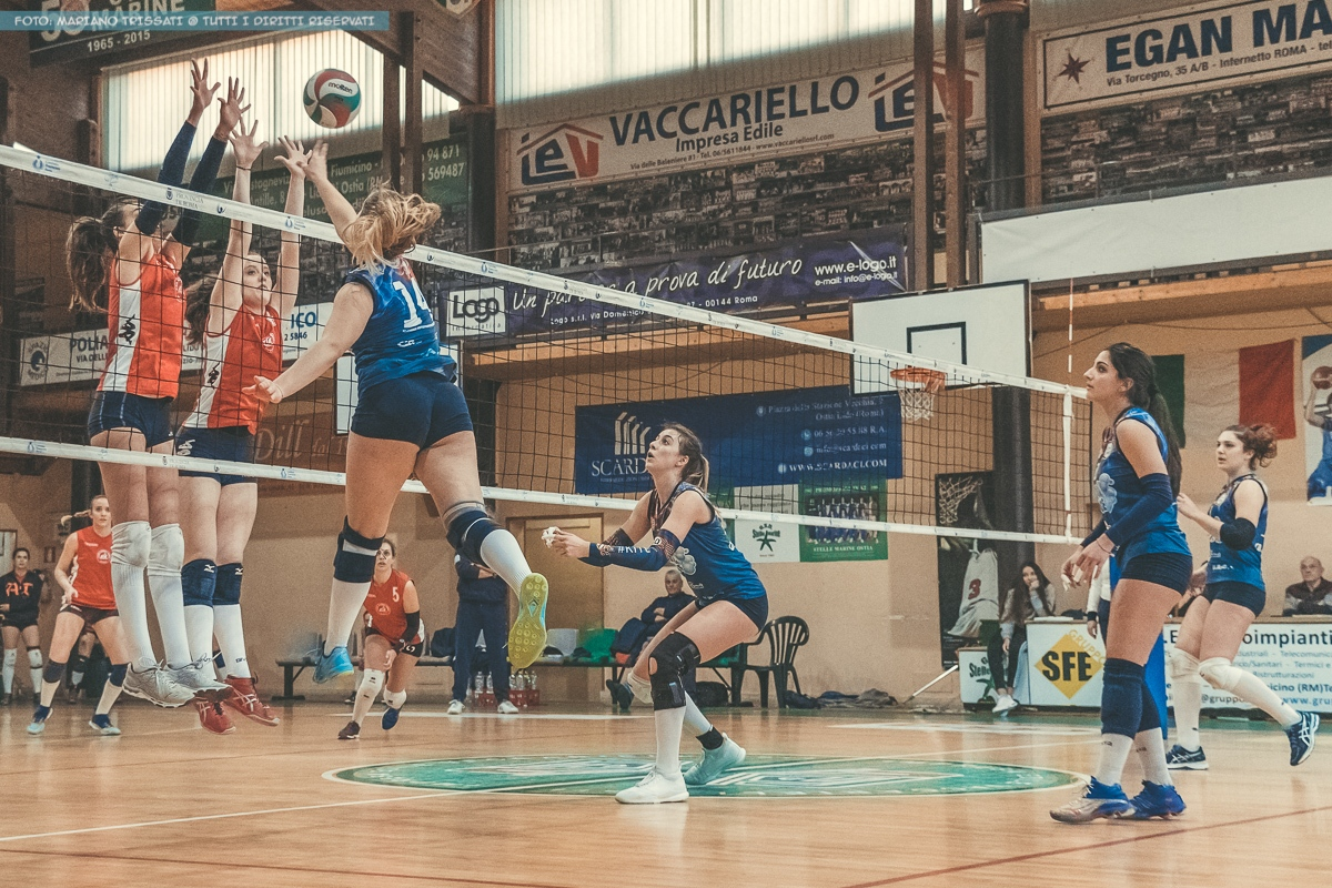 B2F - Volley Group Roma - Andrea Doria Tivoli