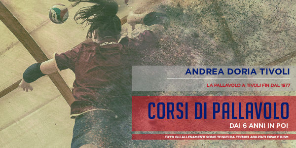 Andrea Doria Tivoli - Iscrizione Corsi Pallavolo