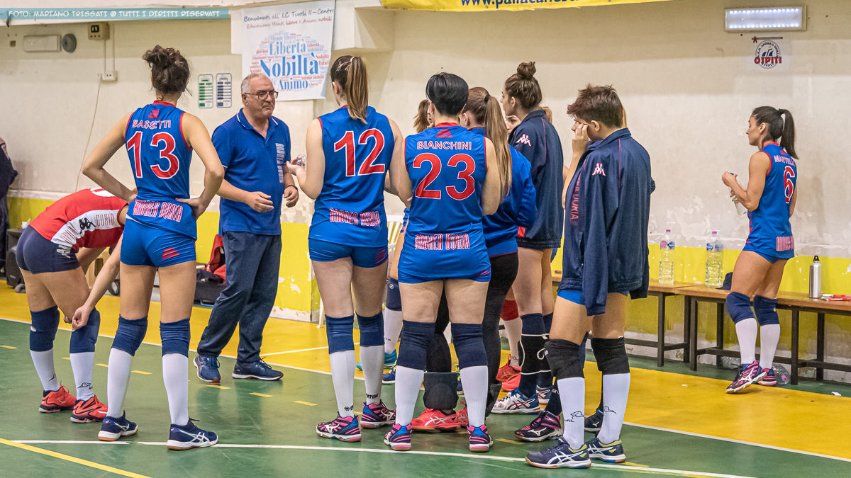 DF - Andrea Doria Tivoli - San Nilo Volley Grottaferrata