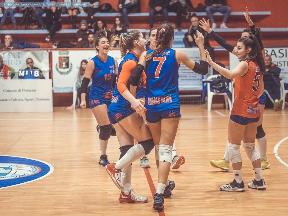 B2F - United Volley Pomezia - Andrea Doria Tivoli