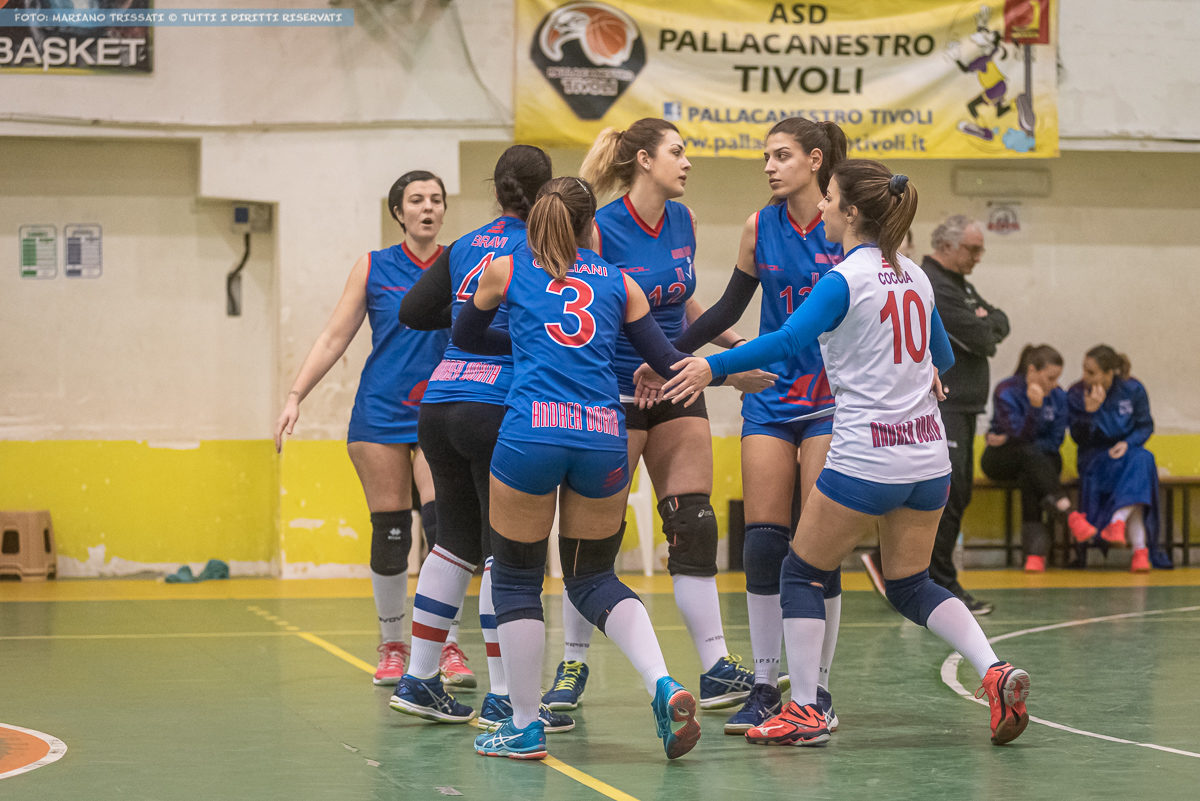 DF - Andrea Doria Tivoli - Volley Friends Roma