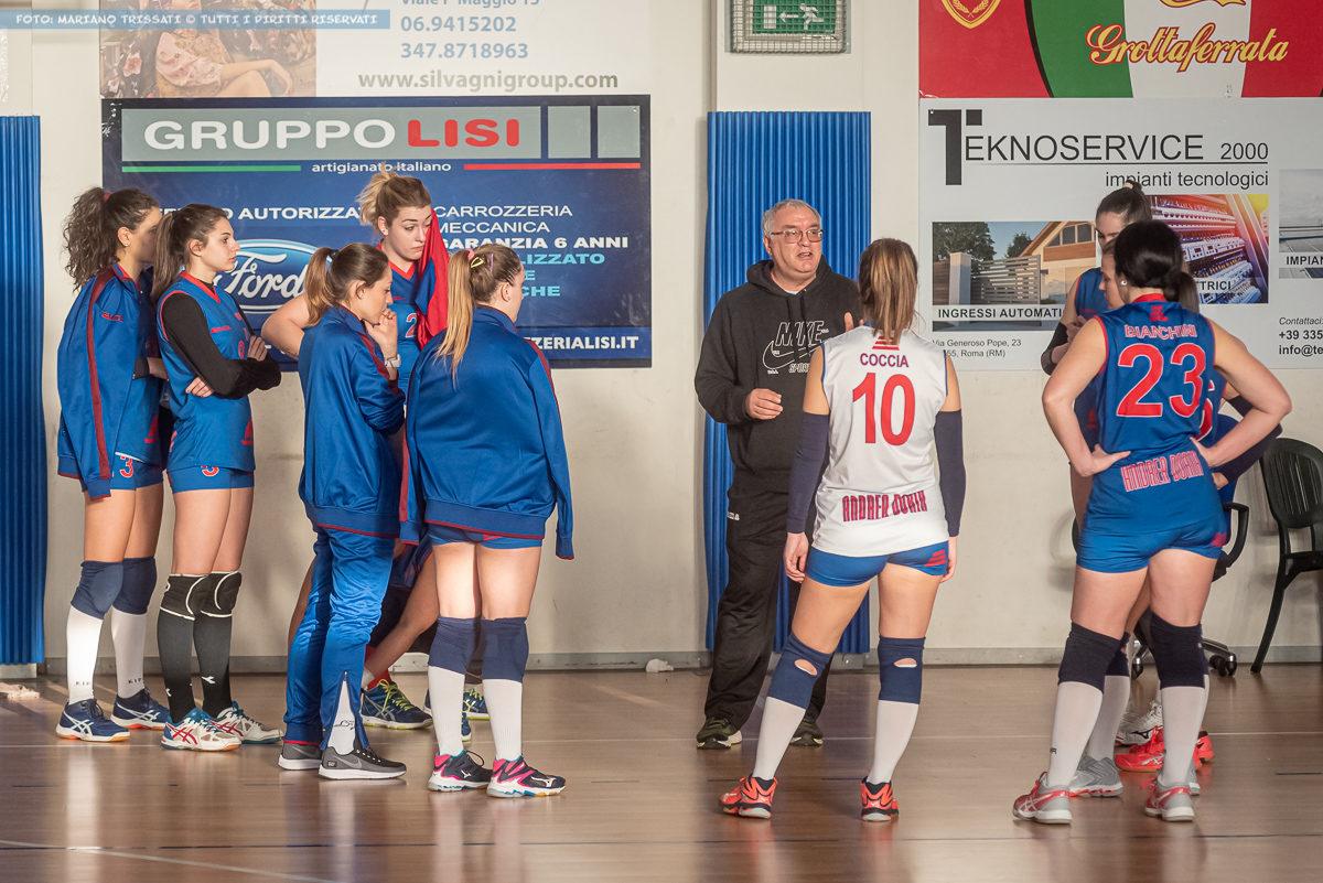 DF - San Nilo Volley Grottaferrata - Andrea Doria Tivoli